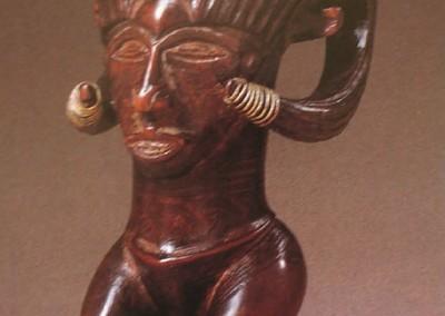 copo antropomórfico kuba (Congo).