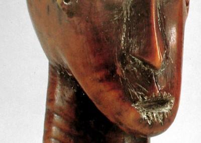 Escultura léga (Uganda e Congo).