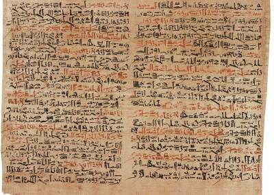 Papiro egípcio, sd.