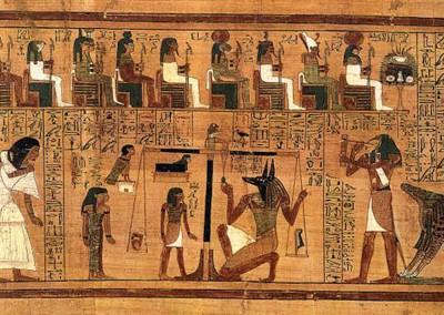 papiro, XIX dinastia, 1554-1080 A.C.