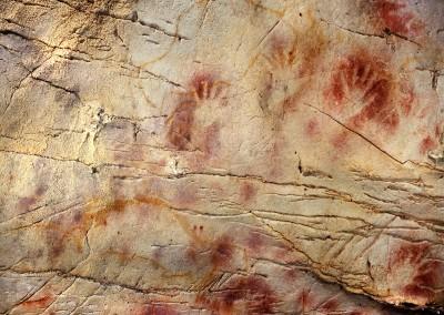 pintura na Cueva del Castillo, Santander, cerca de 25.000 A.C.