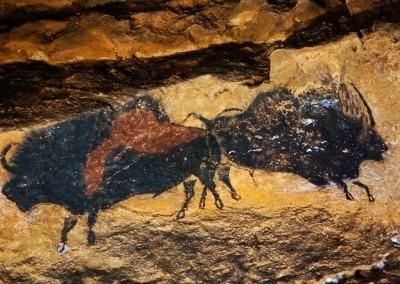 pintura na caverna de Lasacaux, 18.000 A.C.