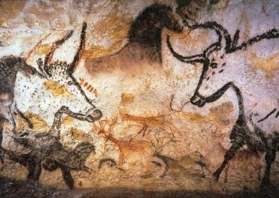 pintura na caverna de Lascaux, 18.000 A.C.