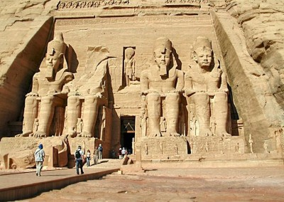 templo de Abu Simbel, XIX dinastia, 1554-1080 A.C.