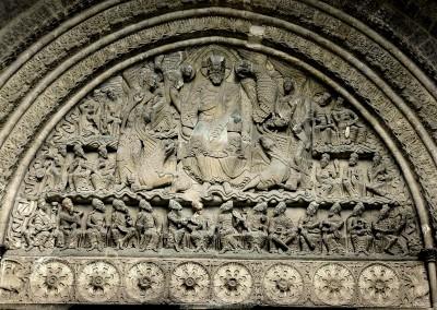 Abadia de Saint-Pierre de Moissac, portada sul, século XII.