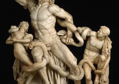 Agesandro, Polidoro e Atendoro. Laocoonte, século I.