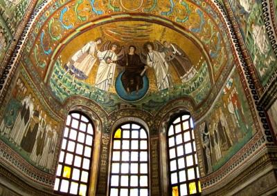 Basílica de São Vital, 546-548. Parte interna.