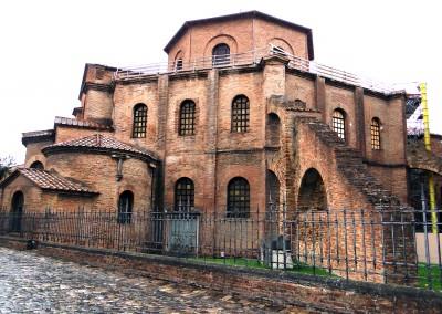 Basílica de São Vital, Ravena, século V.