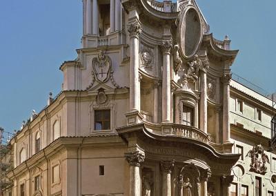 Borromini, Francesco. Igreja de San Carlo alle Quattro Fontane, 1638-41.