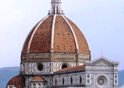 Brunelleschi, Filippo. Cúpula da igreja de Santa Maria dei Fiori, Florença, 1434.