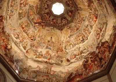 Brunelleschi, Filippo. Parte interna da cúpula de Santa Maria dei Fiori, 1434.