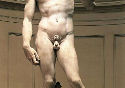 Buonarroti, Michelangelo. Davi, 1504.