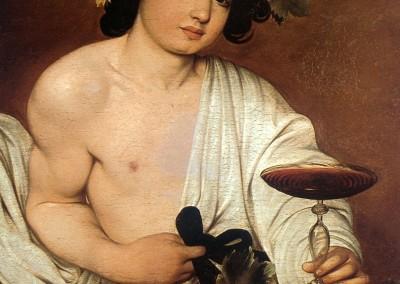 Caravaggio, Michelangelo. Baco, 1636-40.