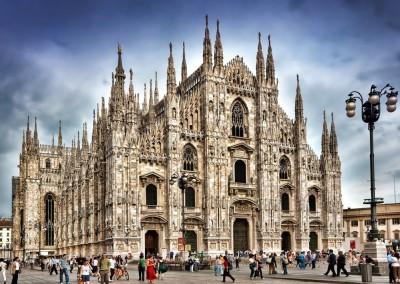 Catedral de Milão, Itália, 1270.