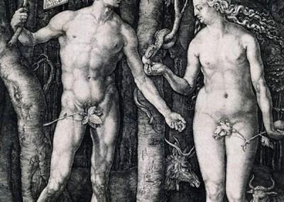 Dürer, Albrecht. Adão e Eva, 1515.
