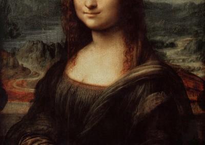 Da Vinci, Leonardo. Monalisa, 1503-05.