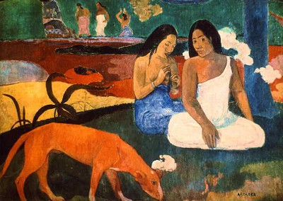 Gauguin, Paul. Arearea, 1892.
