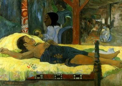 Gauguin, Paul. Nascimento de Cristo, 1896.