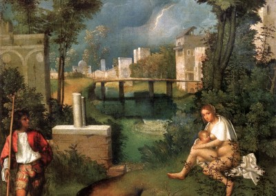 Giorgione. A tempestade, 1518.