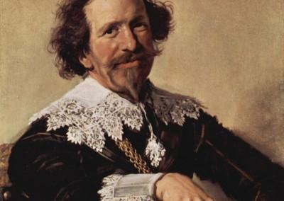 Hals, Franz. Retrato de Broecker, 1633.