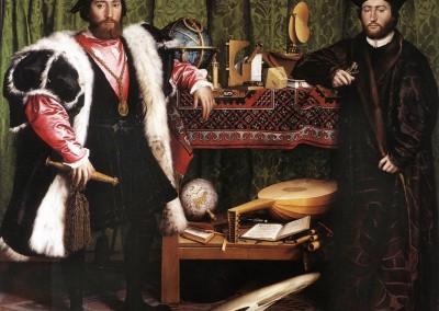 Holbein, Hans. Os embaixadores, 1533.