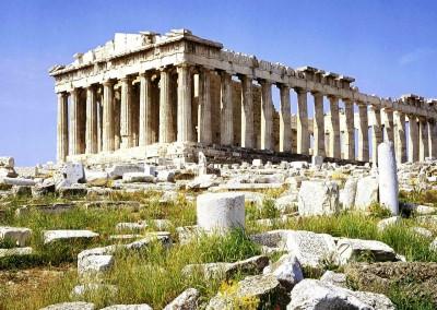 Ictino, Calícrates e Fídias. Partenon, 447-432 A.C.