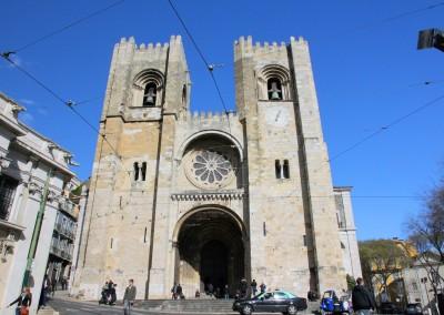 Igreja da Sé. Lisboa, 1147.