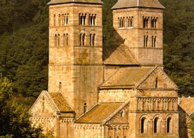 Igreja de Murbach, Alsácia, 1160.