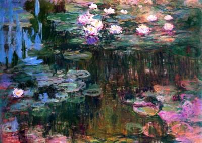 Monet, Claude. Vitórias régias, 1906.