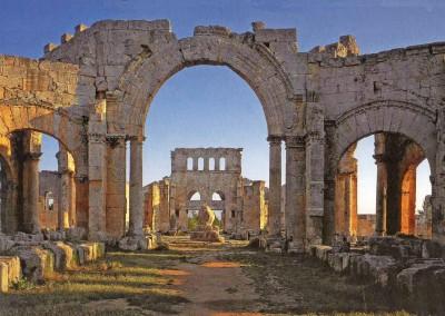 Qalat Siman. Síria, 470.