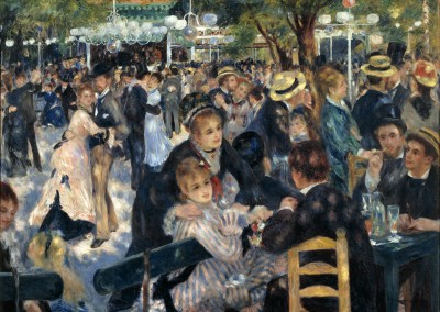 Renoir, Pierre Auguste. Le moulin de la galette, 1876.