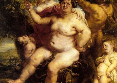 Rubens, Peter Paul. Baco, 1636-40.