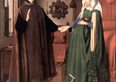 Van Eyck, Jan. O casal Arnolfini, 1434.
