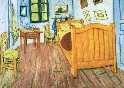 Van Gogh, Vincent. Quarto em Arles, 1888.