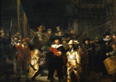 Van Rijn, Rembrandt. A ronda noturna, 1642.