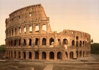 Vespasiano e Tito. Coliseu, 68-79 D.C.