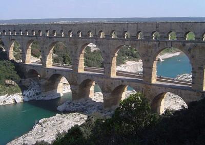 Aqueduto romano.
