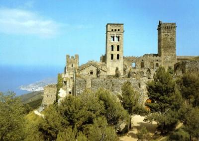 fortaleza românica, século XI.