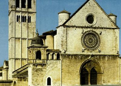 Igreja românica, sudeste da França, século VII.