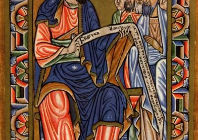 iluminura do século VIII.