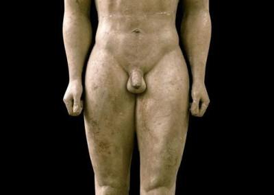 kouros de Sourion, 600-590 A.C.