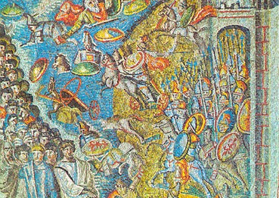 mosaico paleocristão.