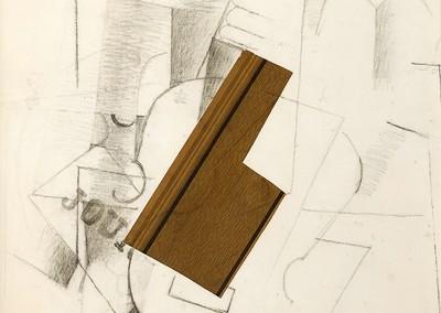 Braque, Georges. Papiers Collés, 1912.