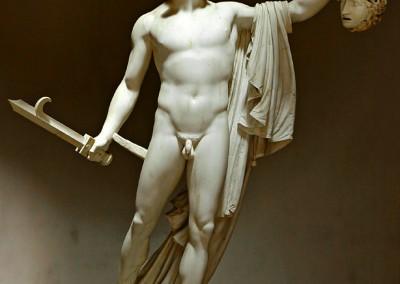 Canova, Antonio. Perseu, 1800-01.
