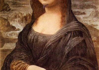 Duchamp, Marcel. Lhooq, Mona Llisa com bigode, 1919.