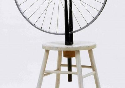 Duchamp, Marcel. Roda de bicicleta, 1913.