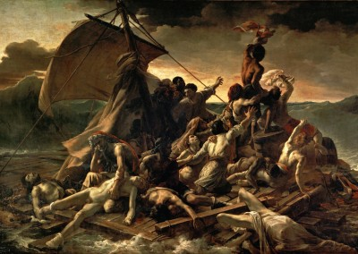 Géricault, Théodore. A jangada da Medusa, 1818-19.