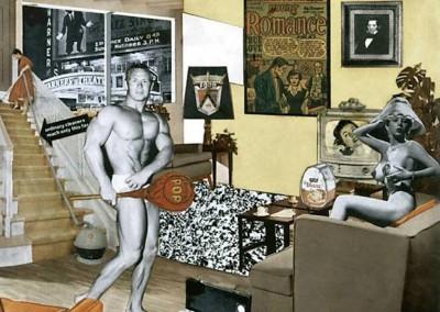 Hamilton, Richard. O que exatamente torna os nossos lares tão diferentes, tão atraentes, 1955.