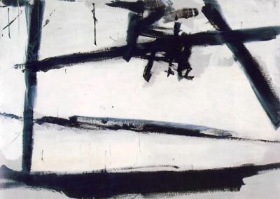 Kliine. Franz. Pintura número 2, 1954.