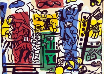 Léger, Fernand. Estudo para a Grande Parada, 1952.